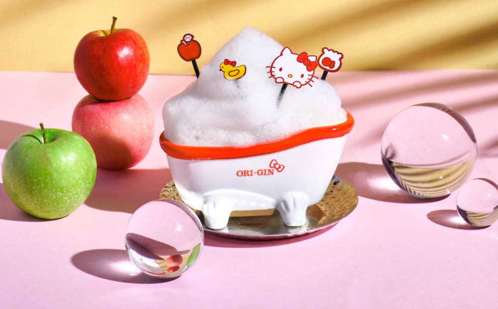 Hello Kitty pop-up at Origin Hong Kong