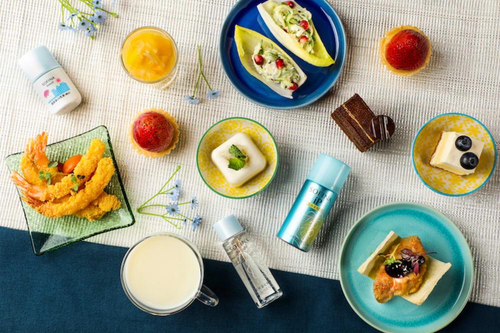 Club @28 x SOFINA Summer Beauty Afternoon Tea at Crowne Plaza Hong Kong Causeway Bay