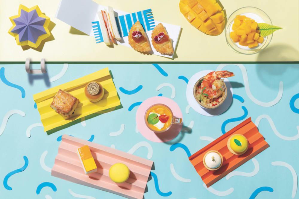 Mango Fiesta Summer Afternoon Tea at Mirage Bar & Restaurant, Renaissance Hong Kong Harbour View Hotel