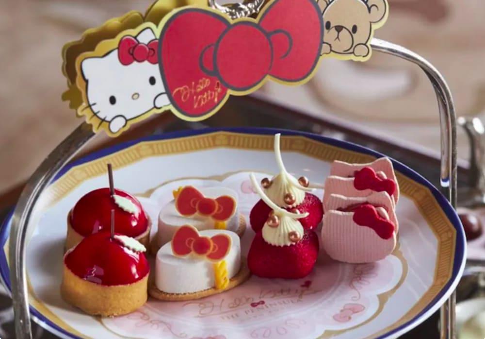 Hello Kitty x The Peninsula Hong Kong afternoon tea