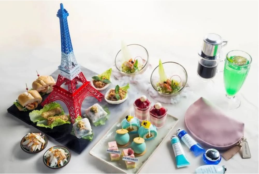 Ingrid Millet x Le Soleil at The Royal Garden Hotel Hong Kong afternoon tea