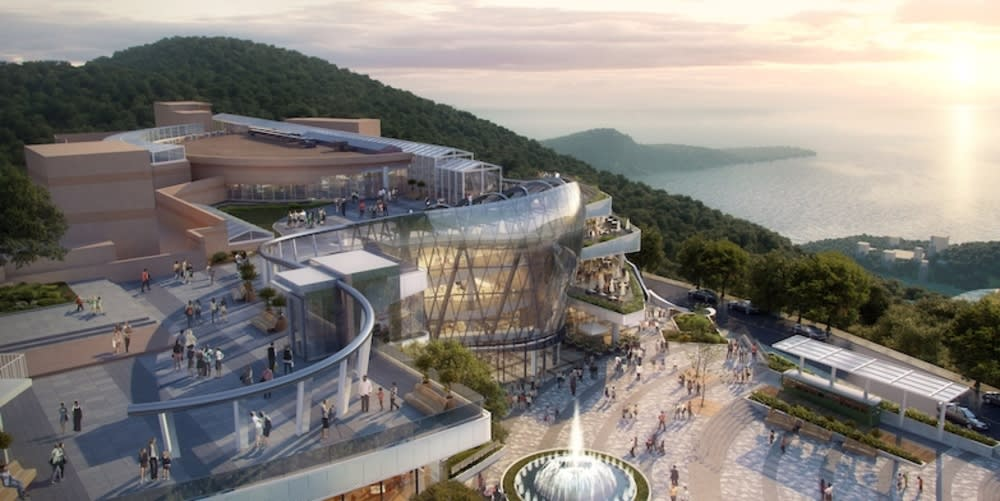 Peak Galleria Hong Kong