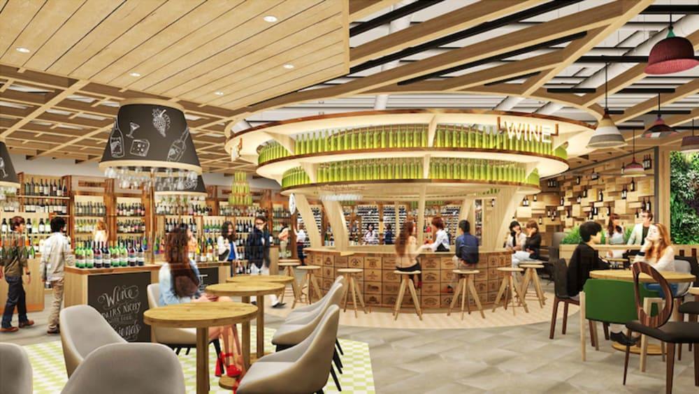 Amazing Food Hall (city'super Times Square, Hong Kong)
