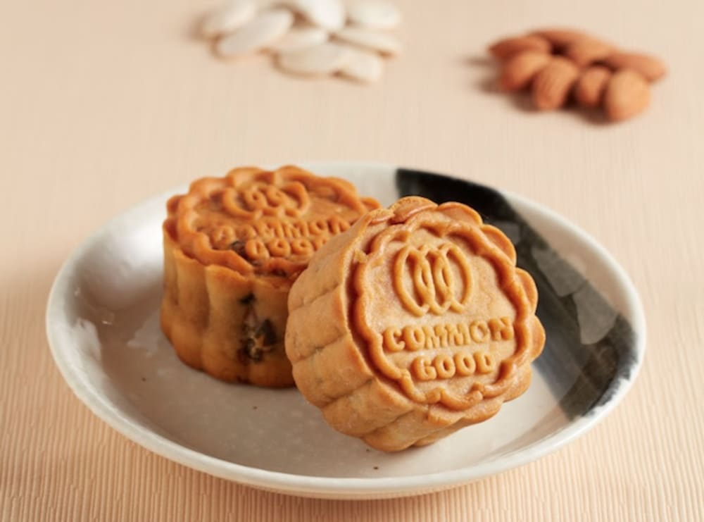 Green Common Hong Kong mooncakes