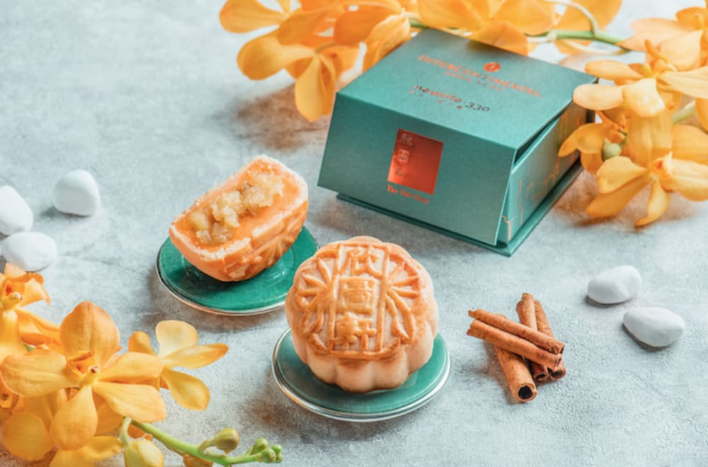 Yan Toh Heen at InterContinental Hong Kong mooncakes