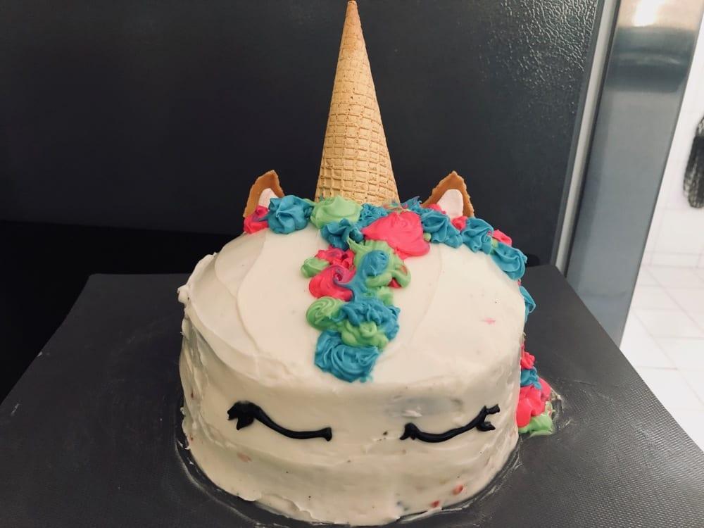 BBQ birthday cake