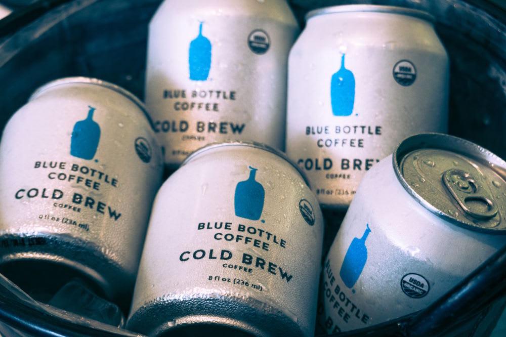 Blue bottle cold brew