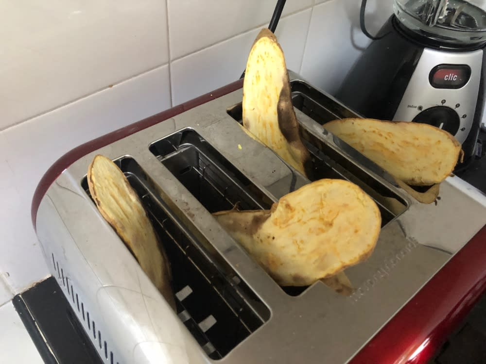 Toaster sweet potato