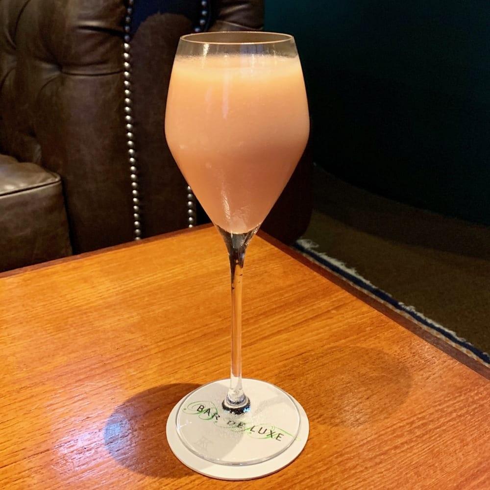 Bellini at Bar De Luxe Hong Kong