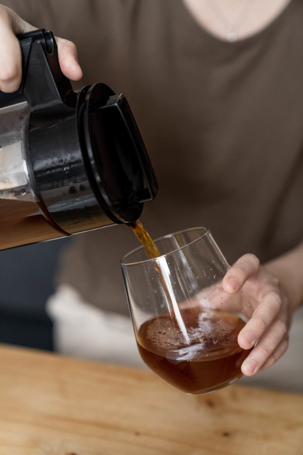 NOC cold-brew coffee