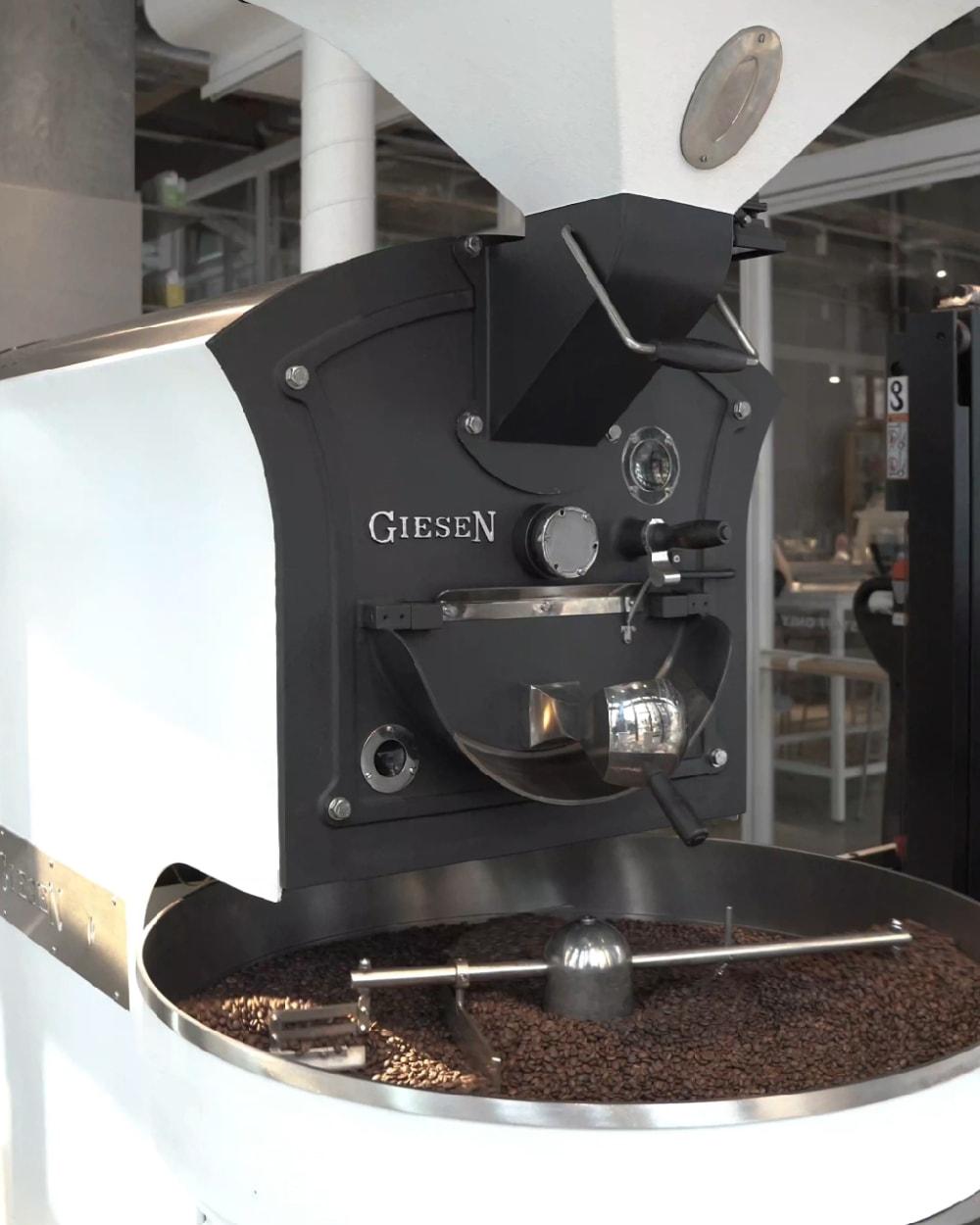 Giesen coffee roasting machine