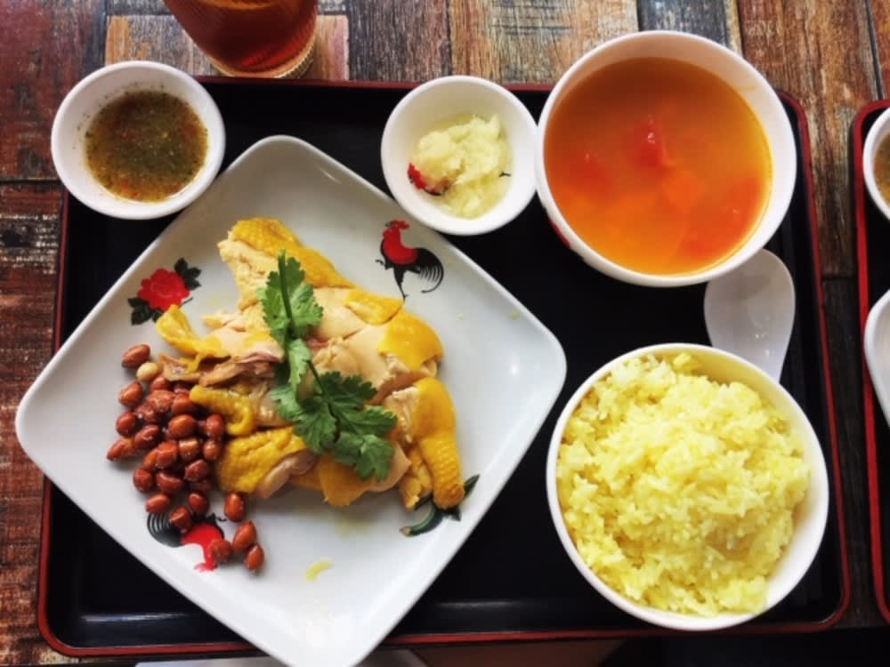 The Farm Hong Kong Hainan chicken rice