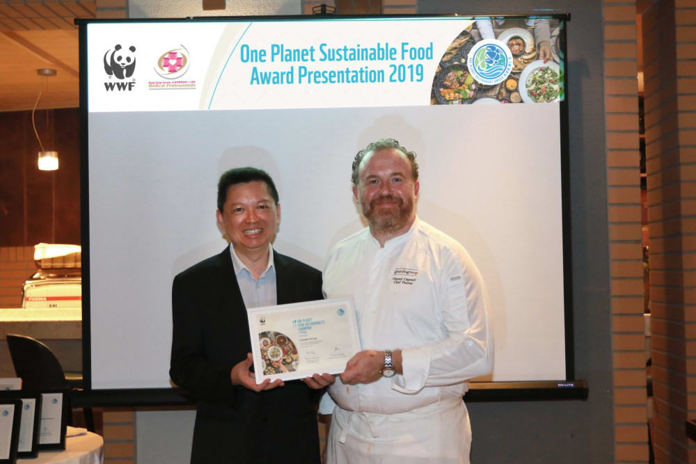 WWF's One Planet Restaurant Awards