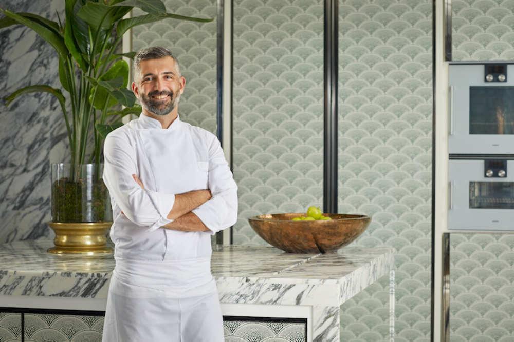 Chef Renaud Marin