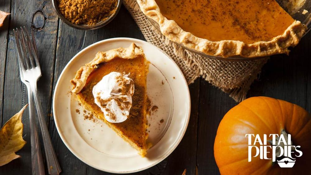 pumpkin and spice pie