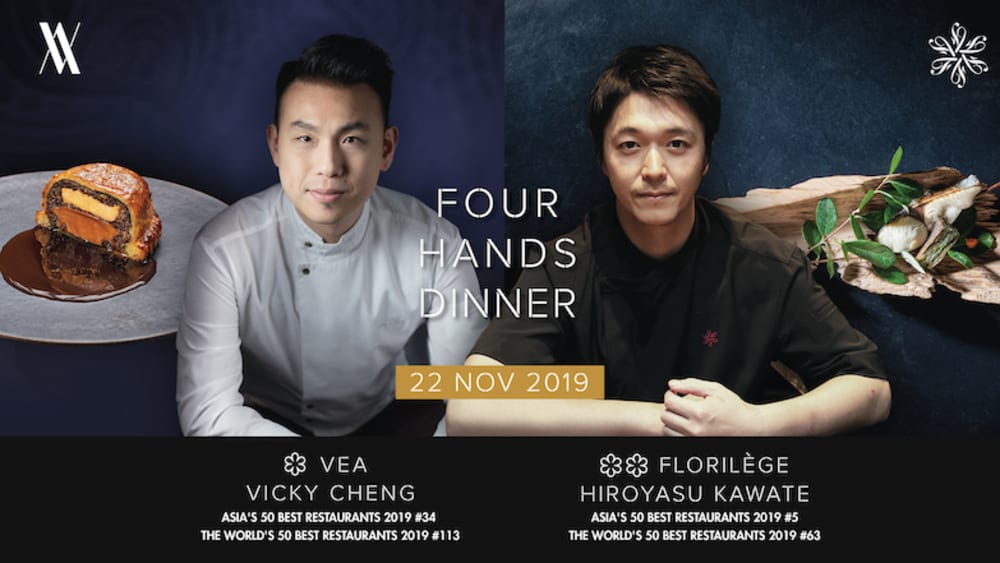 Florilège 4-hands pop-up at VEA