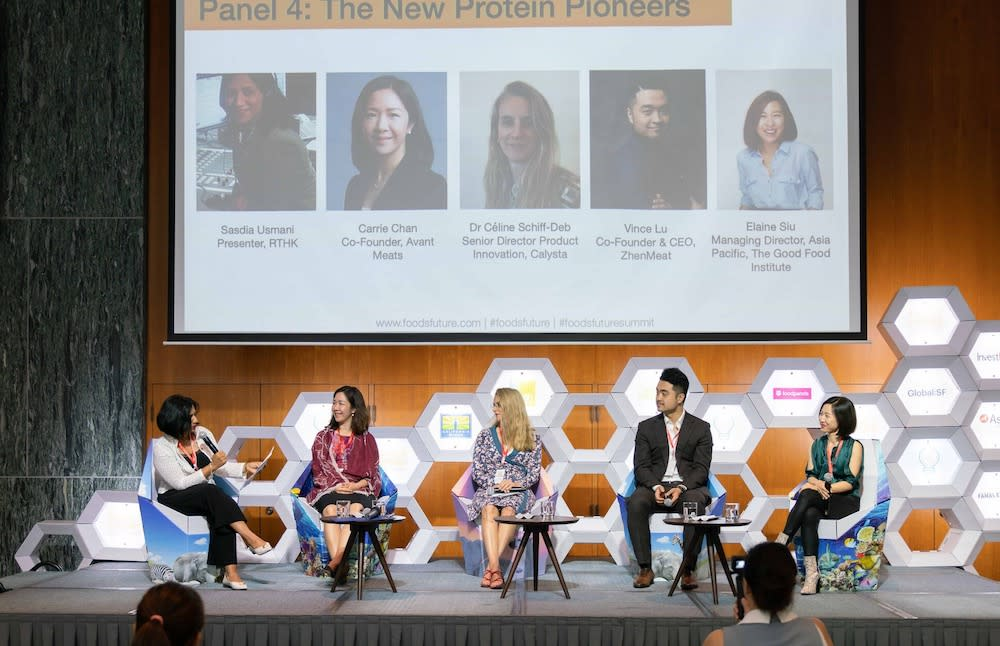 The New Protein Pioneers panel