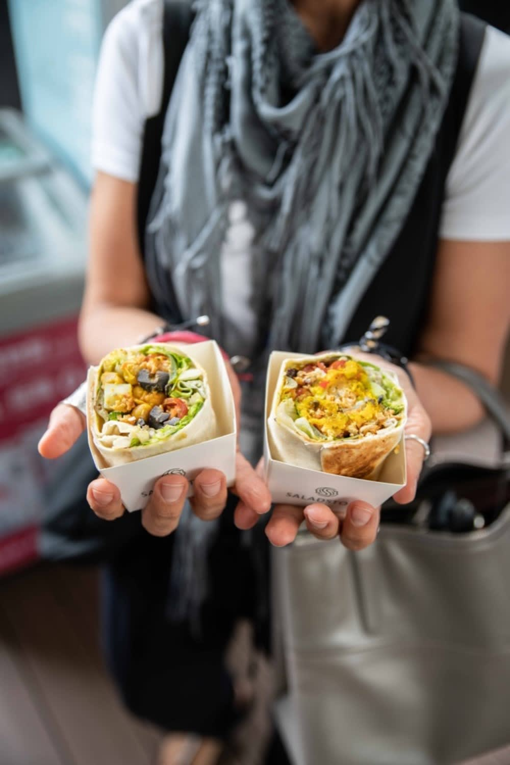SaladStop Wraps at the Food's Future Summit