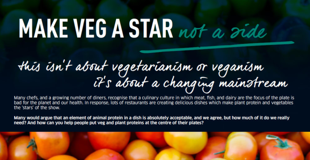 Make Veg a Star, not a Side campaign