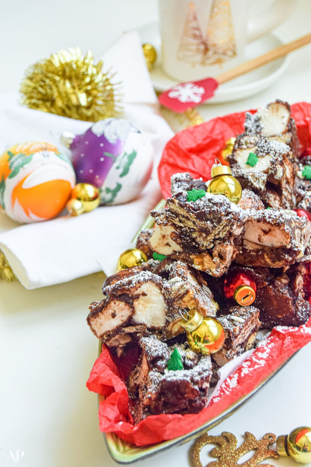 North Pole rocky road