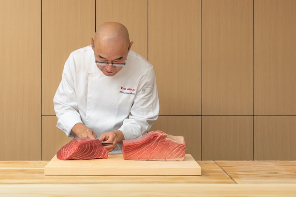 Chef Mitsuhiro Araki