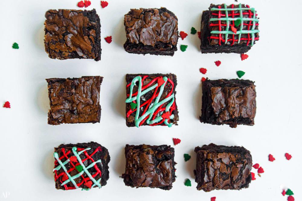 Baileys chestnut brownies