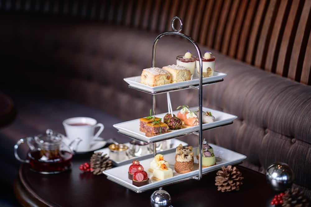 Festive afternoon tea at Café Gray Deluxe, The Upper House Hong Kong