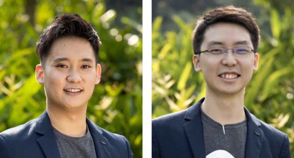 Jack Yap (l) and Jin Yin Lim (r)