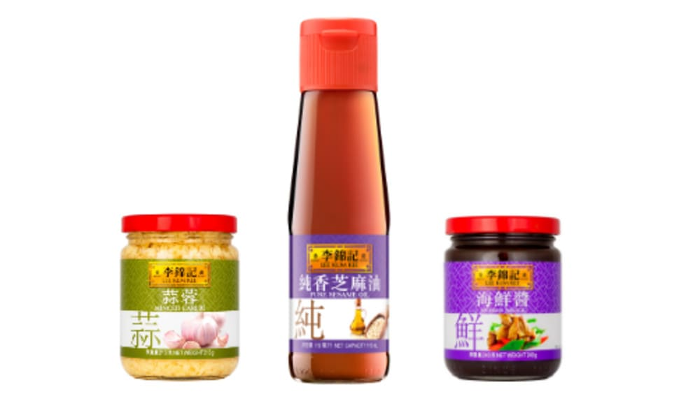 Lee Kum Kee sauces and condiments
