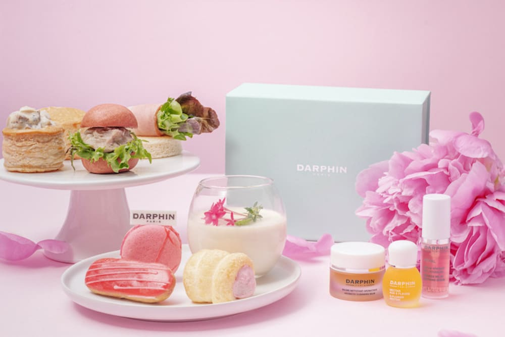 Darphin x Gradini Glamour in Bloom Afternoon Tea at The Pottinger Hong Kong
