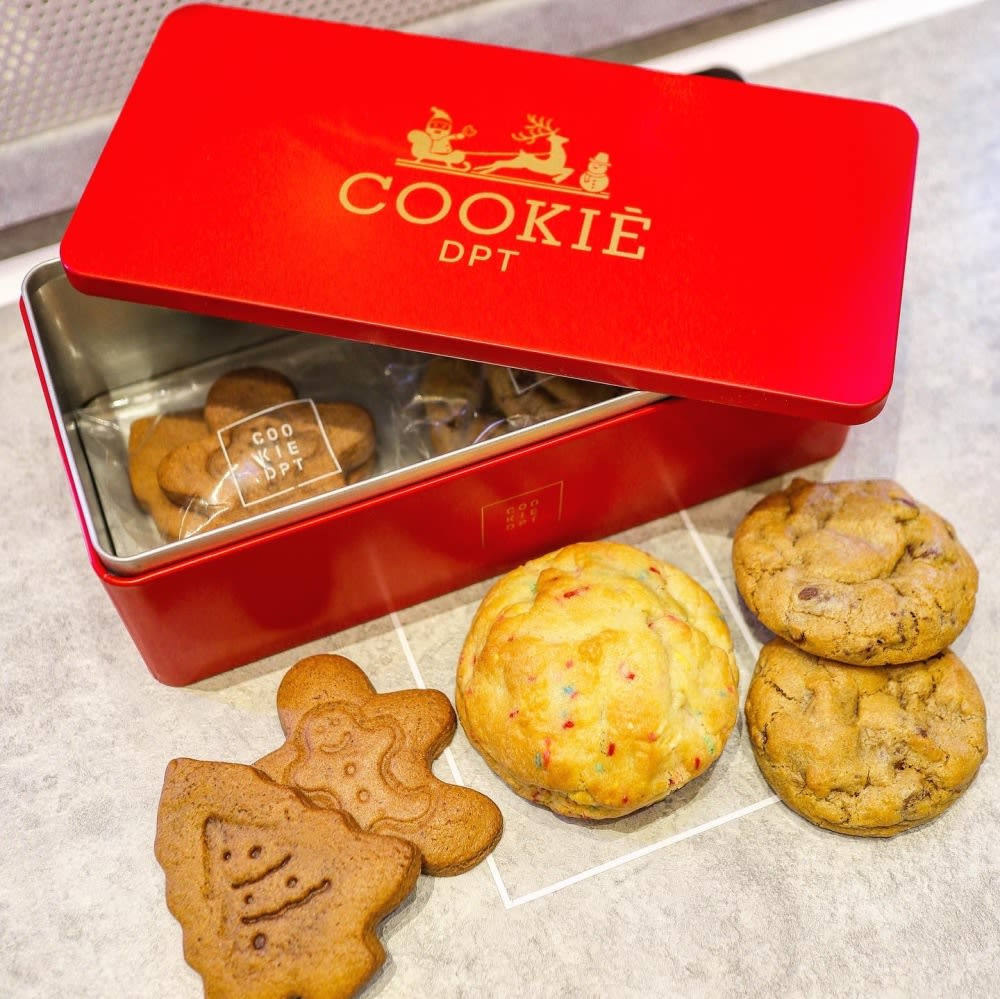 Cookie DPT Hong Kong festive tins