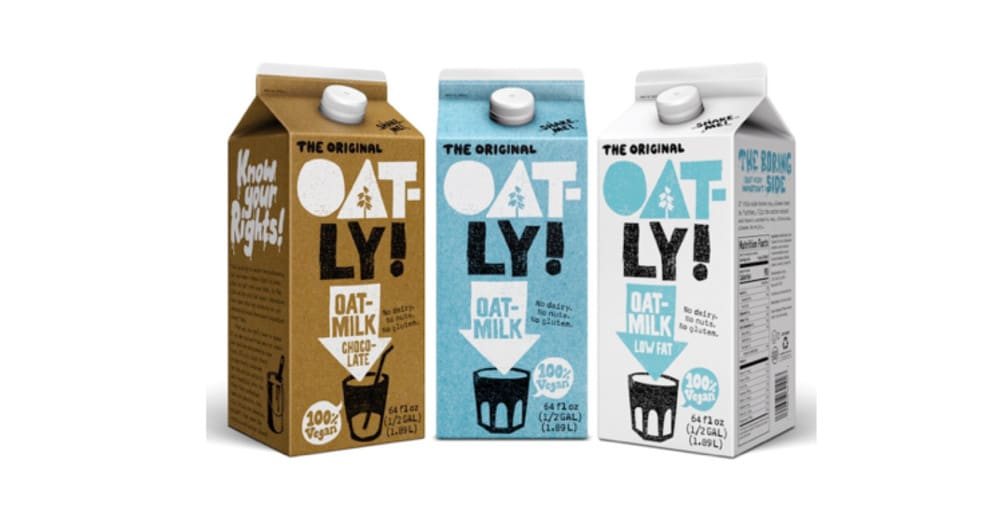 Oatly! oat milk