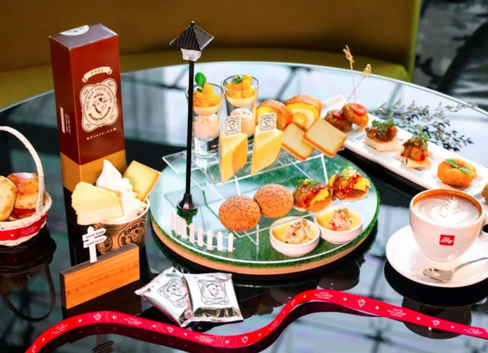 Tokyo Milk Cheese Factory x GREEN at Hotel ICON Hong Kong afternoon tea