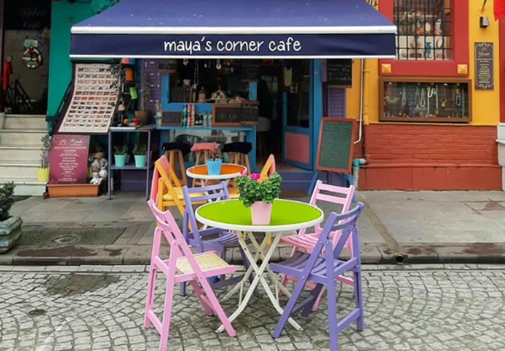 Maya's Corner Cafe Istanbul