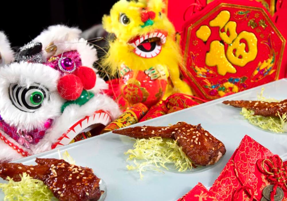 Chinese New Year eats