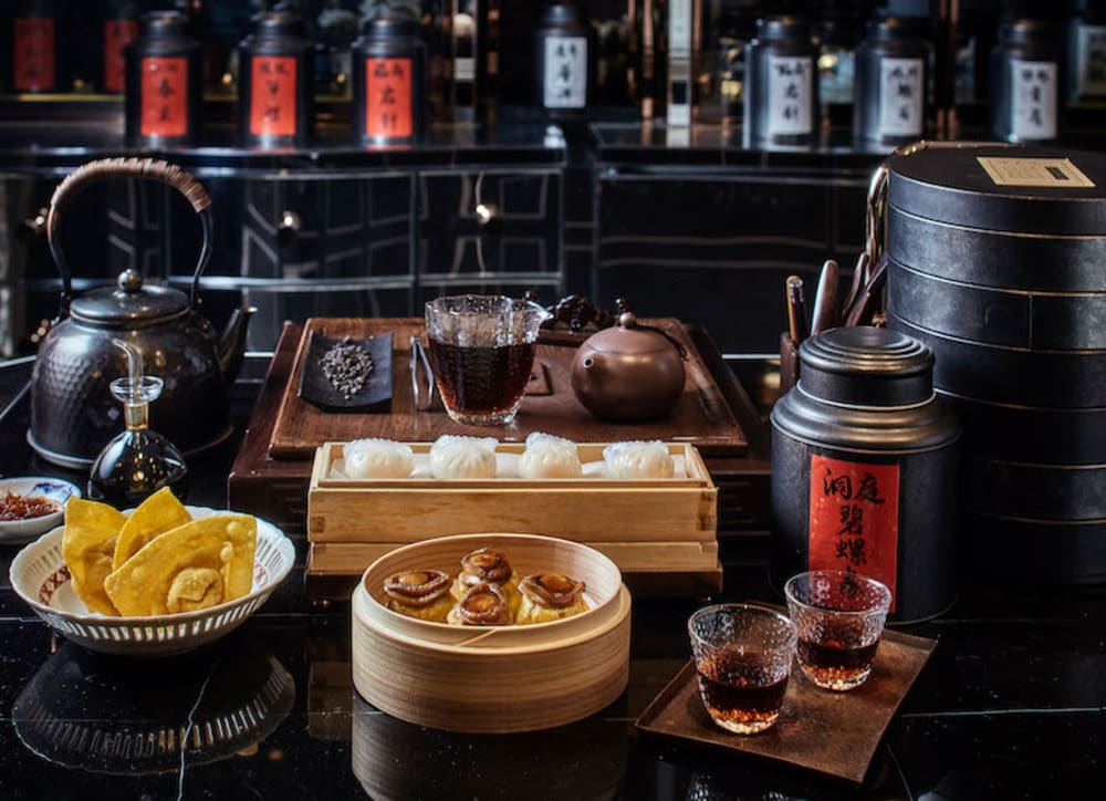 Chinese afternoon tea at Holt's Café & Tea Conservatory, Rosewood Hong Kong