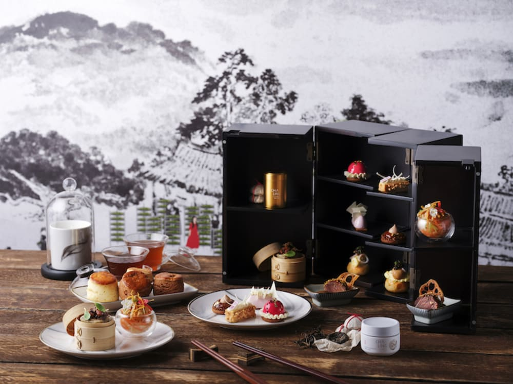 CHA LING x Kerry Hotel, Hong Kong afternoon tea
