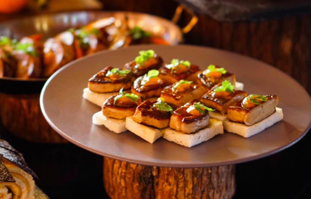 Foie gras W Hong Kong