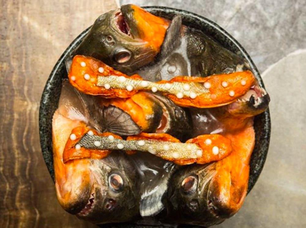 Virgilio Martínez's piranha dish