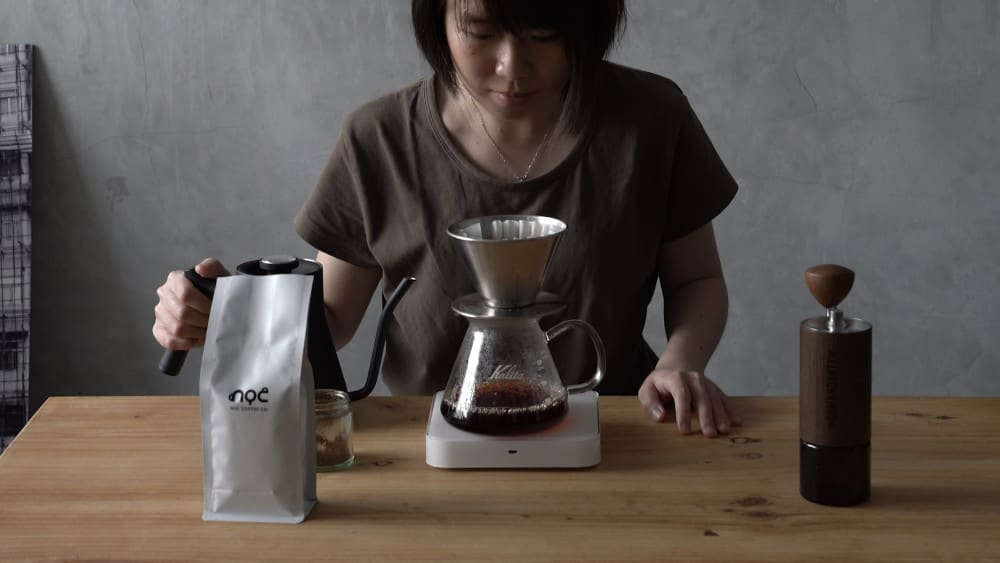 Pourover step-by-step guide