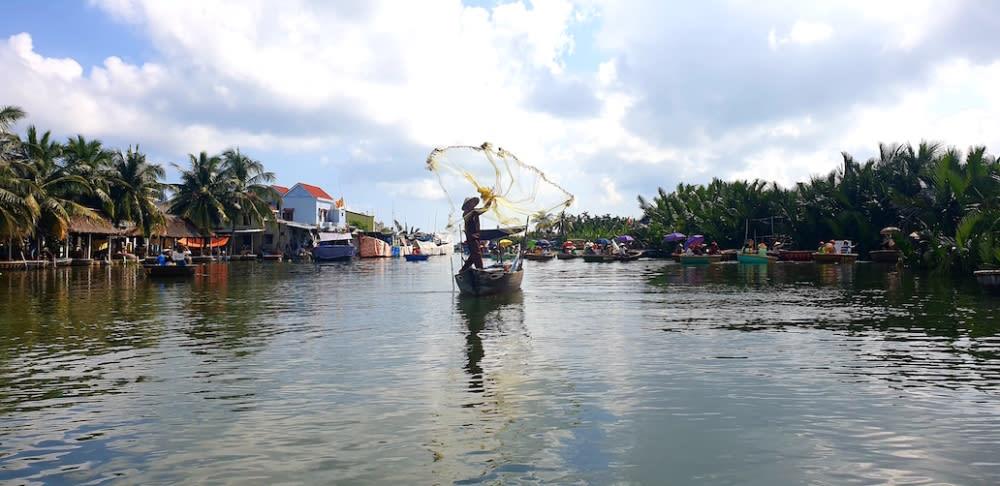 Hanoi fishernman