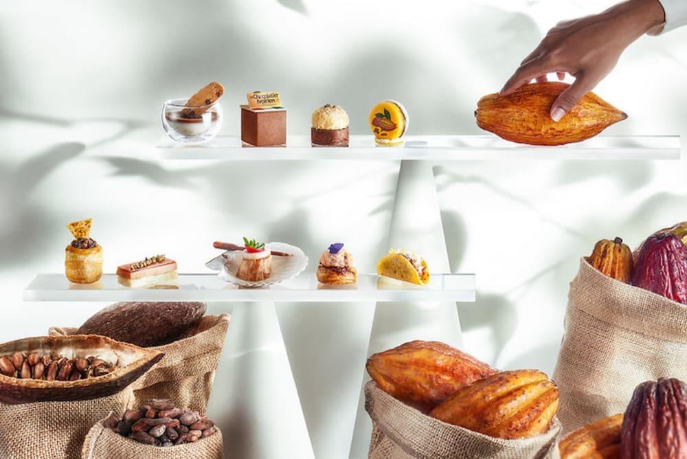 Le Chocolatier Ivoirien by Axel Emmanuel x InterContinental Hong Kong afternoon tea