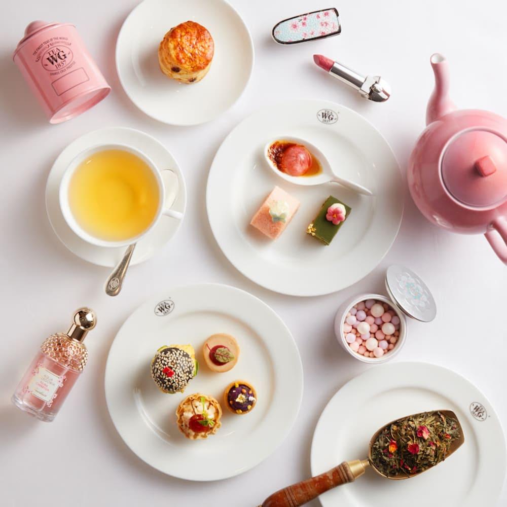 Tea WG x Guerlain afternoon tea Hong Kong