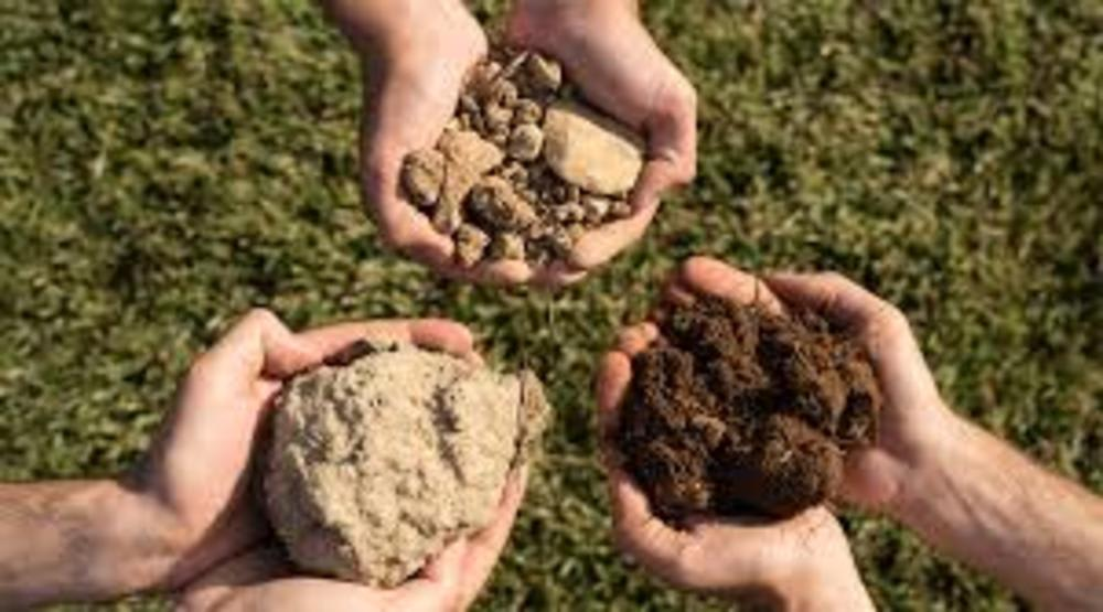Soil in Burgundy
