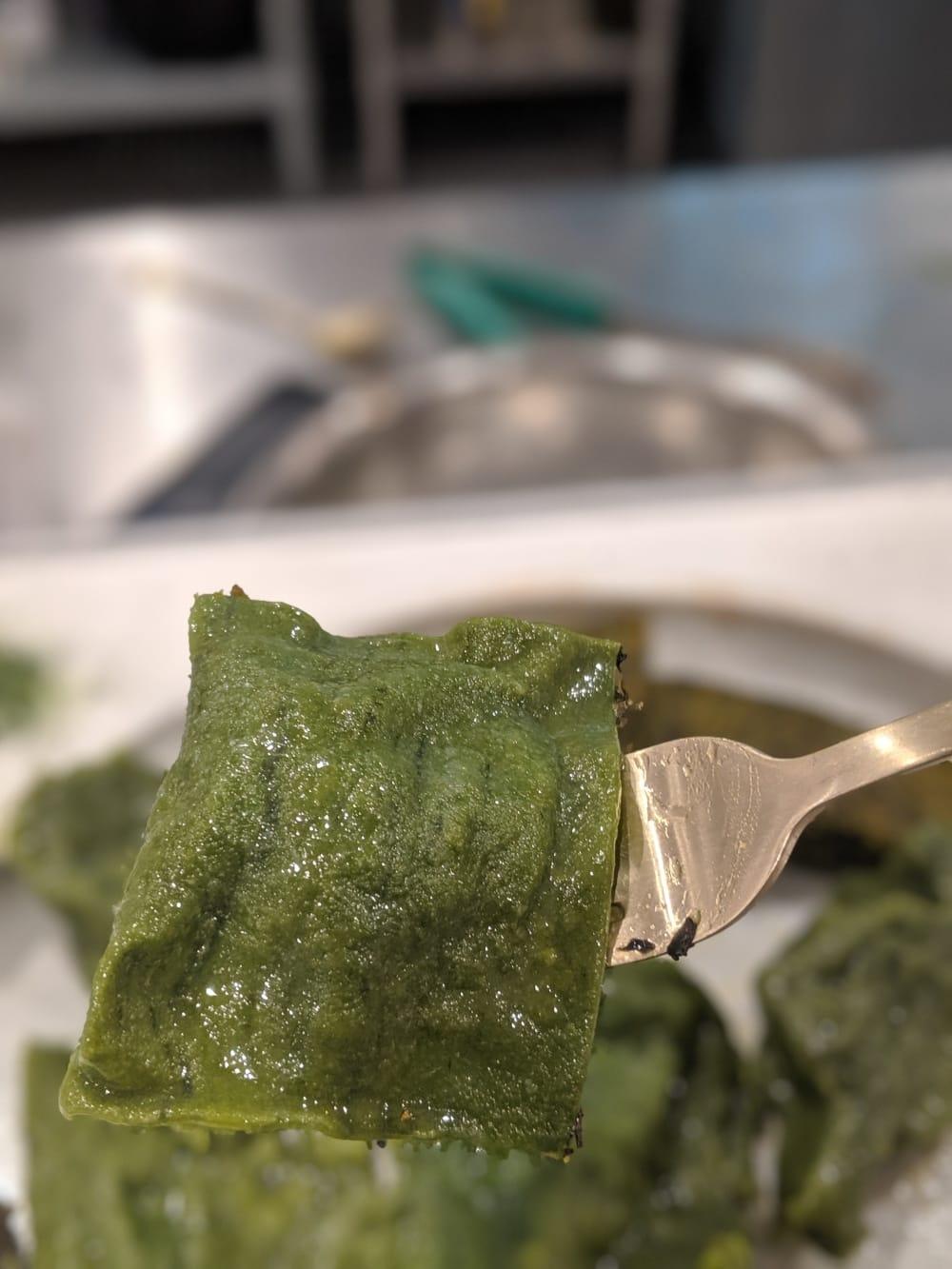 Algae Ravioli