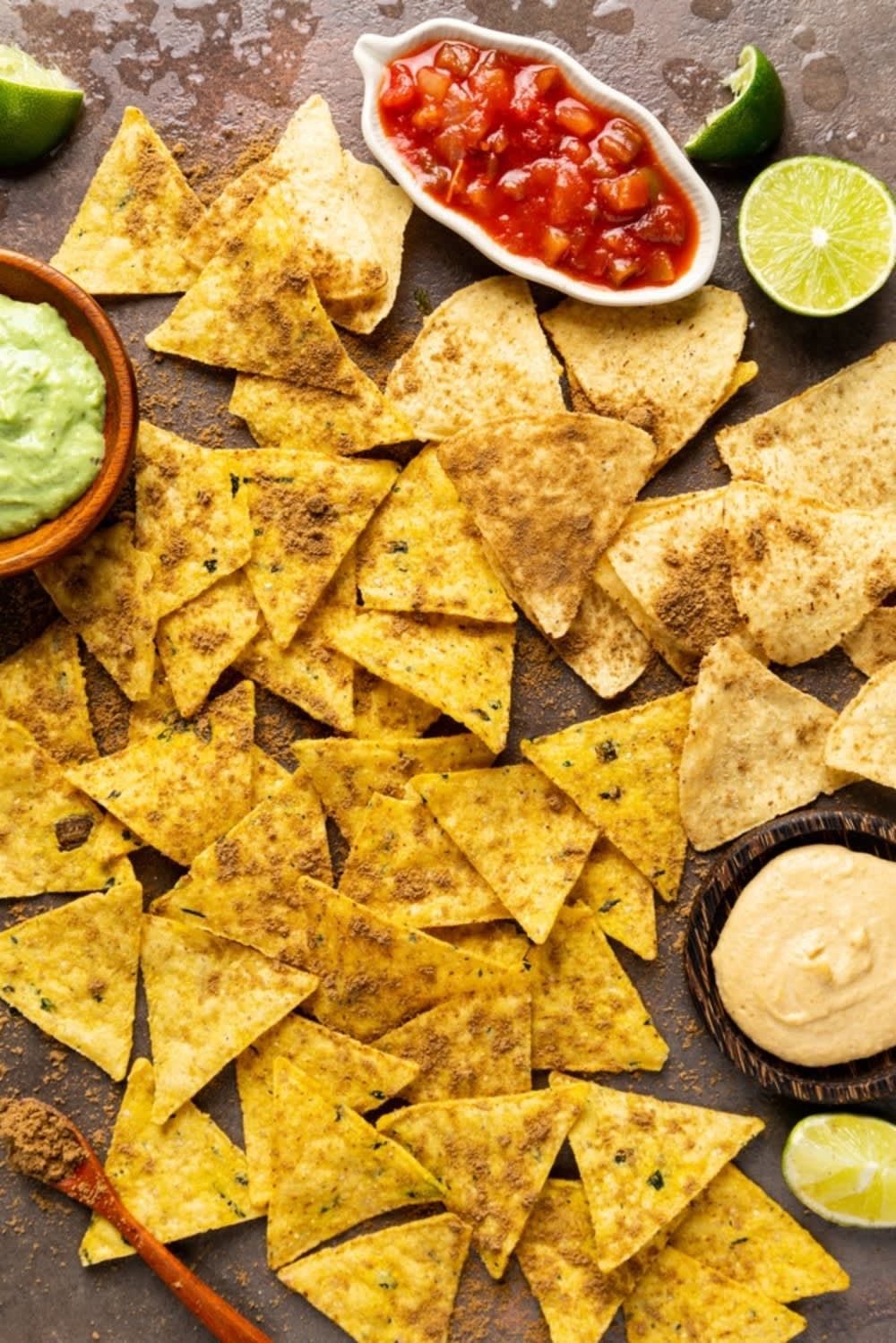 Plant- and insect-based tortilla chips