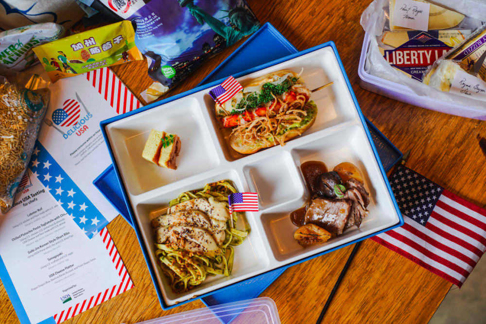 Delicious USA 2020 bento box