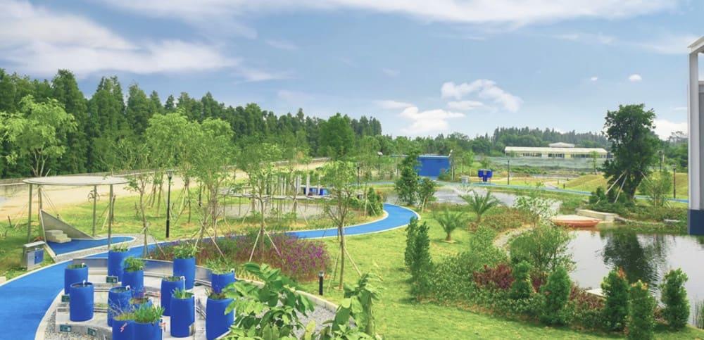 Lee Kum Kee's wetland park