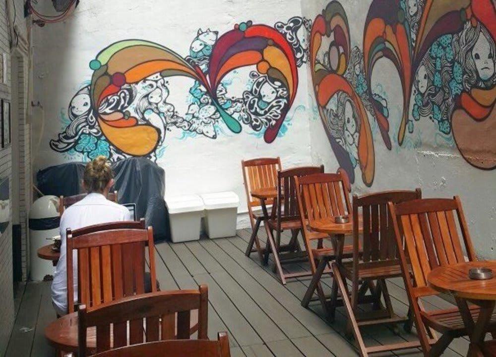 Opendoor Café + Courtyard Hong Kong