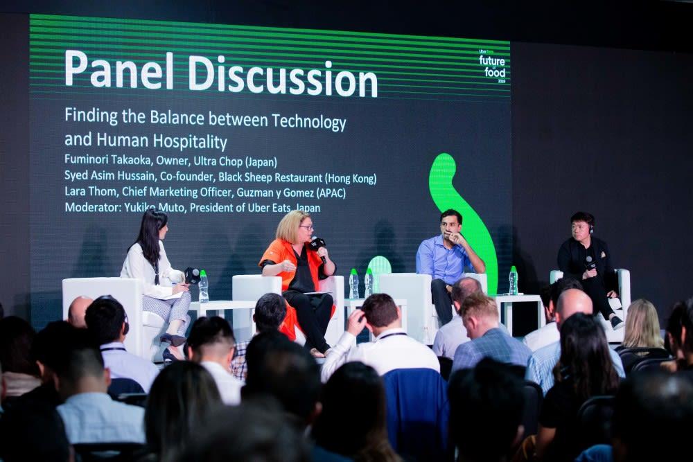 Future of Food Summit, Uber Eats Hong Kong